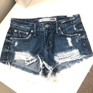 Lovers+FRIENDS denim shorts